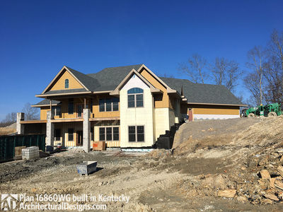 House Plan 16860wg Comes To Life In Kentucky