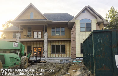 House Plan 16860WG comes to life in Kentucky! - photo 006