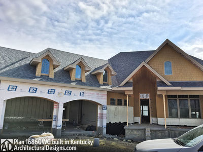 House Plan 16860WG comes to life in Kentucky! - photo 009