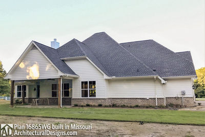 House Plan 16865WG comes to life in Missouri - photo 005