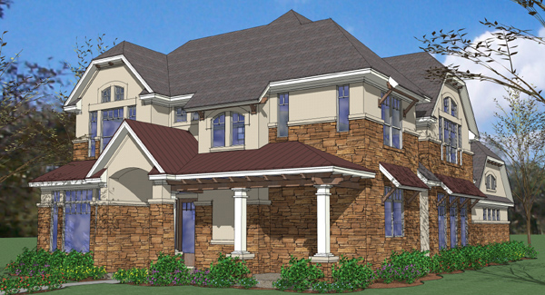 house plan with two master suites 16875wg 1st floor one story house plans with two master suites home