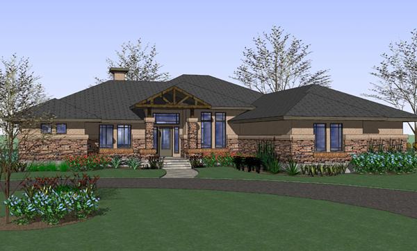 Spacious Prairie Style Home Plan 16881wg 1st Floor