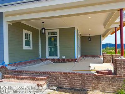 3 Bedroom House Plan With Swing Porch - 16887WG thumb - 32