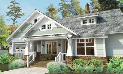 3 Bedroom House Plan With Swing Porch - 16887WG thumb - 11