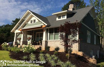 3 Bedroom House Plan With Swing Porch - 16887WG thumb - 10