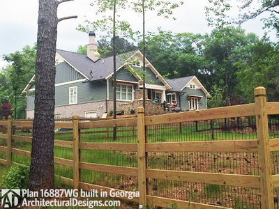 3 Bedroom House Plan With Swing Porch - 16887WG thumb - 21