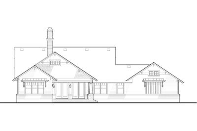 3 Bedroom House Plan With Swing Porch - 16887WG thumb - 35
