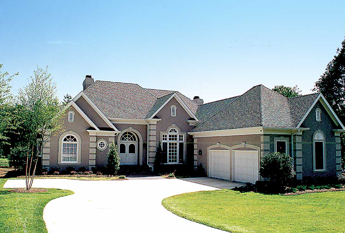 Twin bays 1722lv architectural designs house plans for Twin home plans