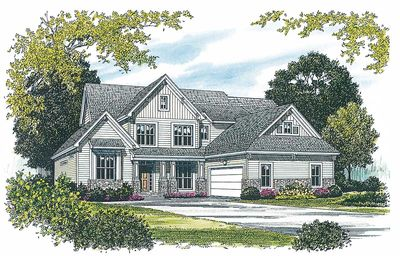 Golf course living 1728lv 1st floor master suite cad for Golf course house plans designs