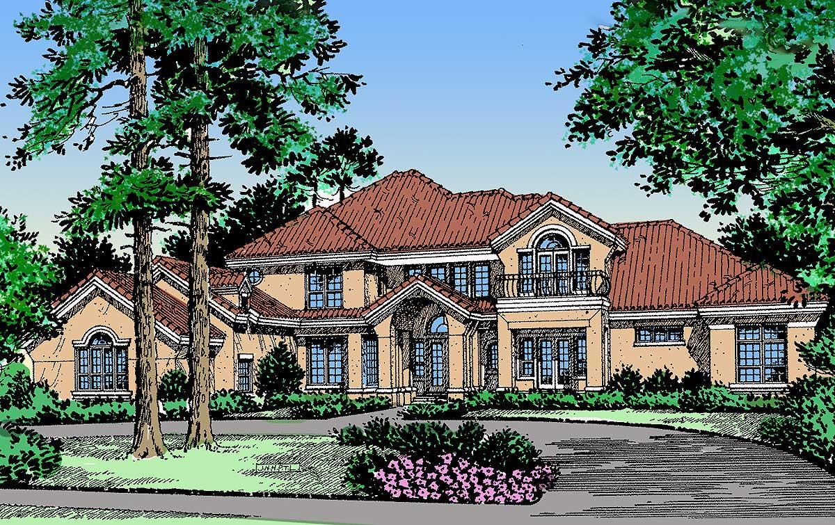 Mediterranean Luxury 17300ac Architectural Designs House Plans