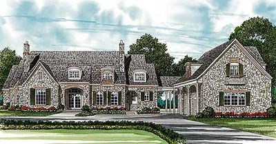 Upscale French Country Abode - 1739LV thumb - 02