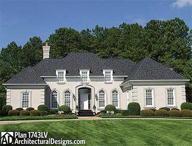 Old World Design 1743LV Architectural Designs House Plans