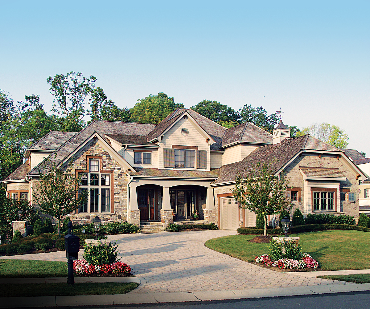 Award winning craftsman manor 17532lv architectural for Award winning home designs 2012