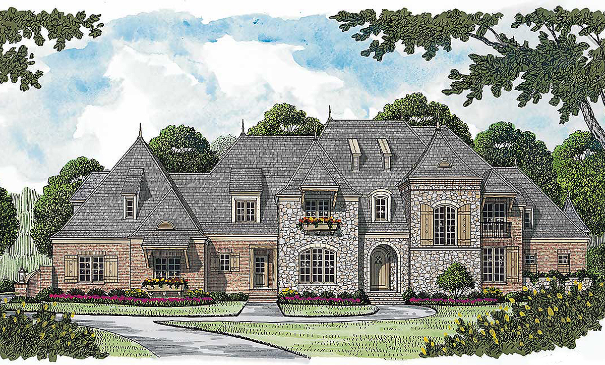 Top Of The Line 17538lv Architectural Designs House