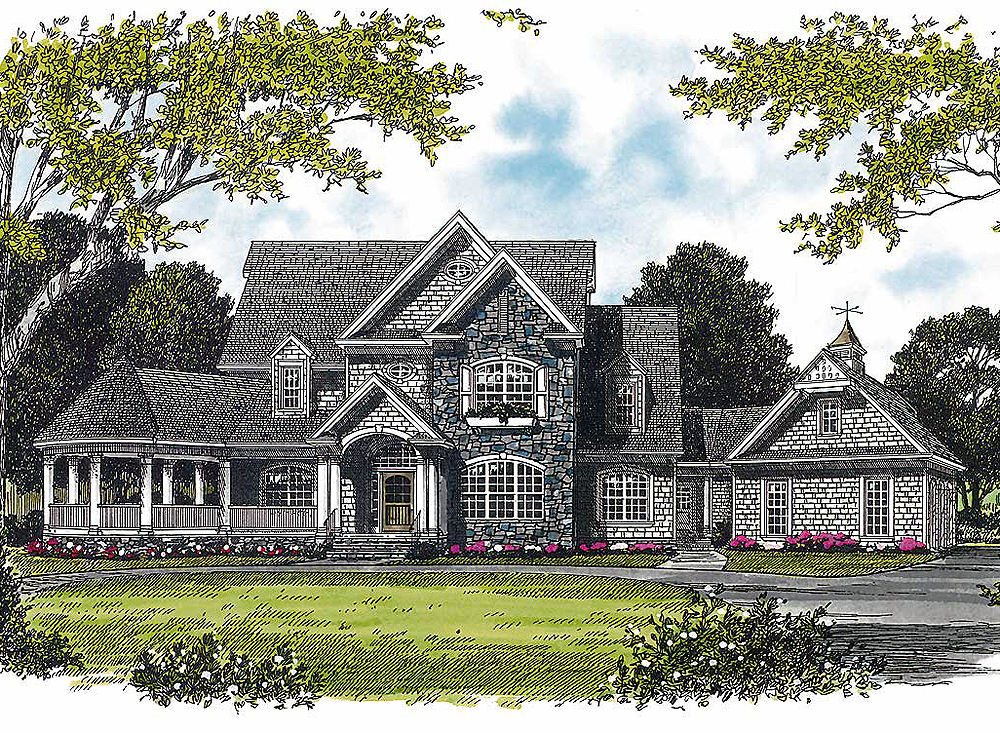 Sprawling Covered Porch 17592lv Architectural Designs