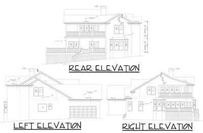 Narrow House Floor Plans With Two Car Garage House Plans With