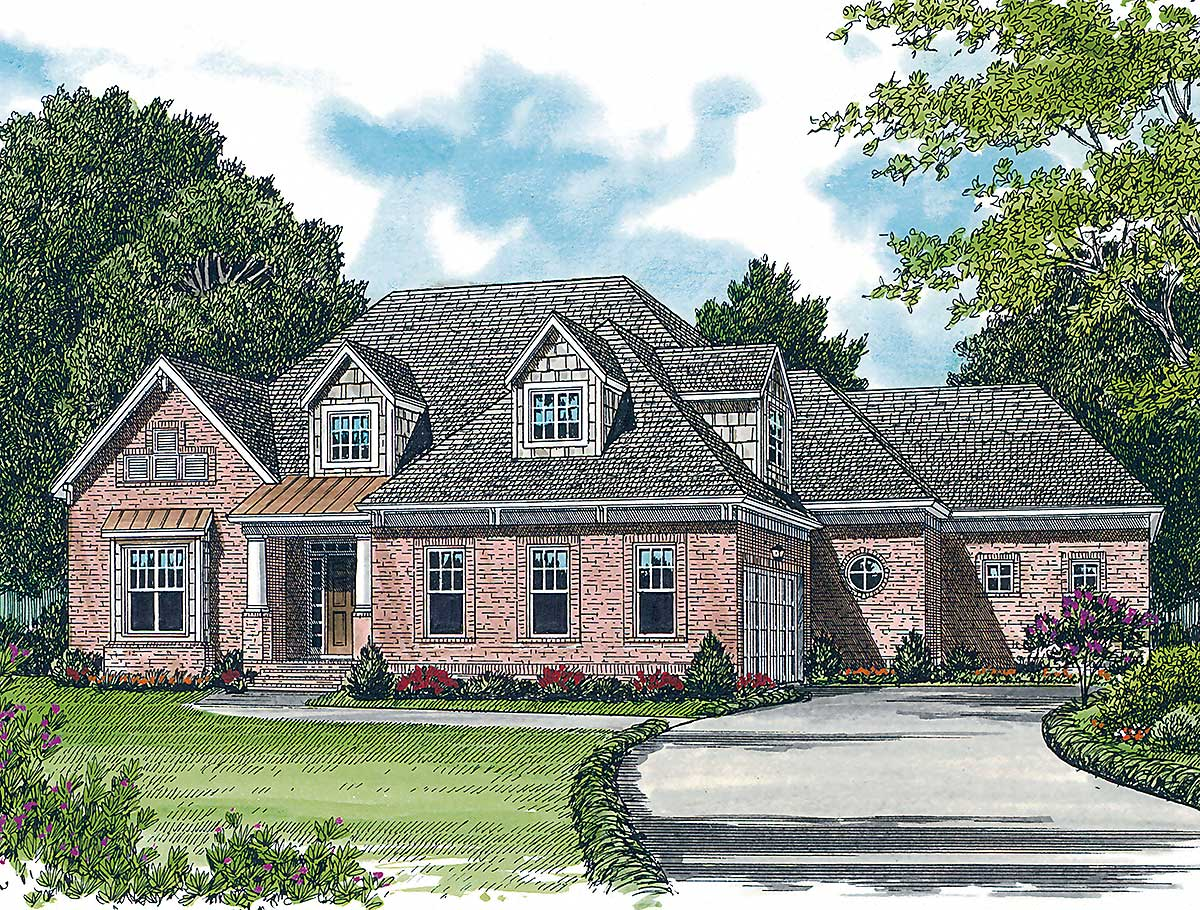 Large open floor plan 17631lv architectural designs for Large open floor plans