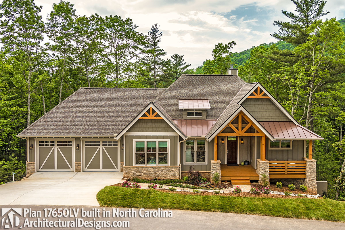 House plan 17650lv built in north carolina House plans nc