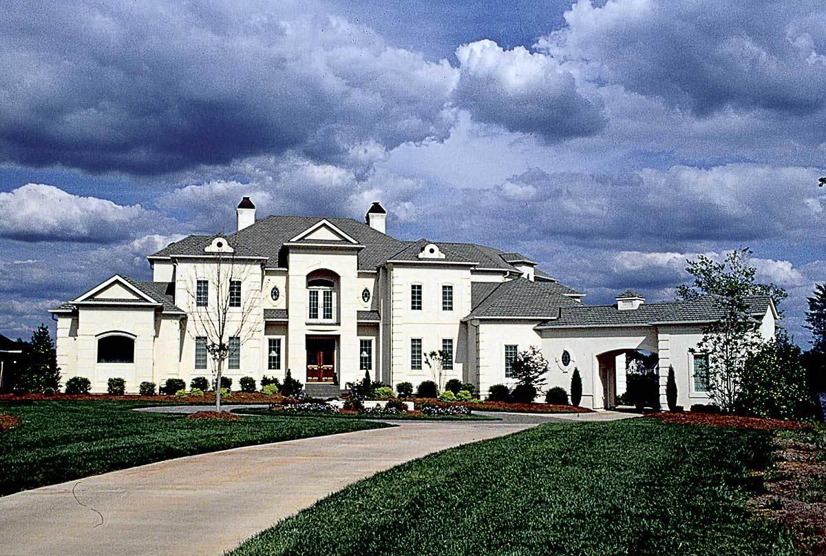 Magnificent european home 17670lv architectural for European house design