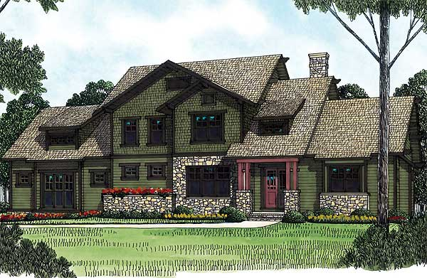 floor plans with pictures shingle style house plan 17683lv 1st floor 17683
