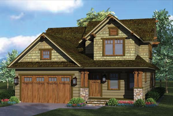 Rustic Craftsman Home Plan 17733lv 1st Floor Master