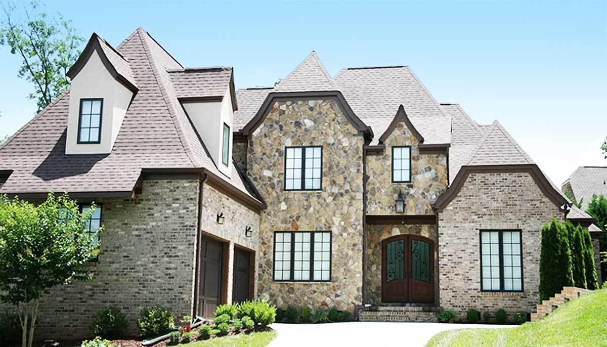 Richly detailed european house plan 17795lv for Detailed house plans