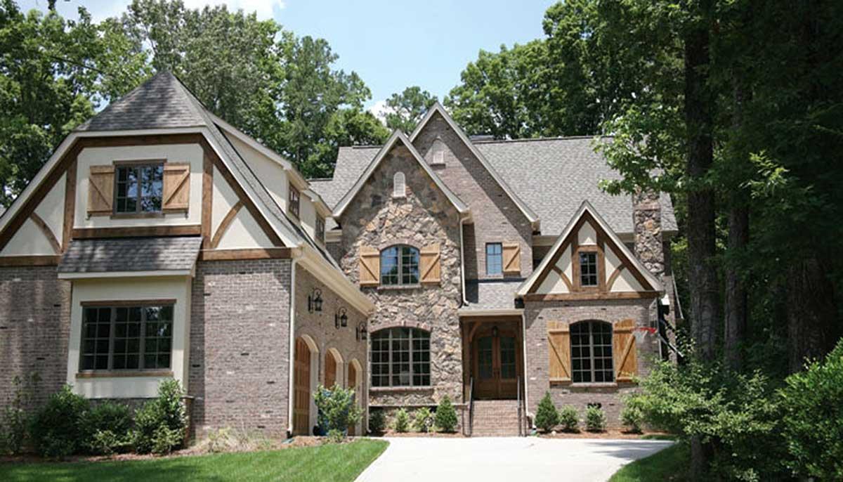 Richly detailed european house plan 17798lv for Detailed house plans