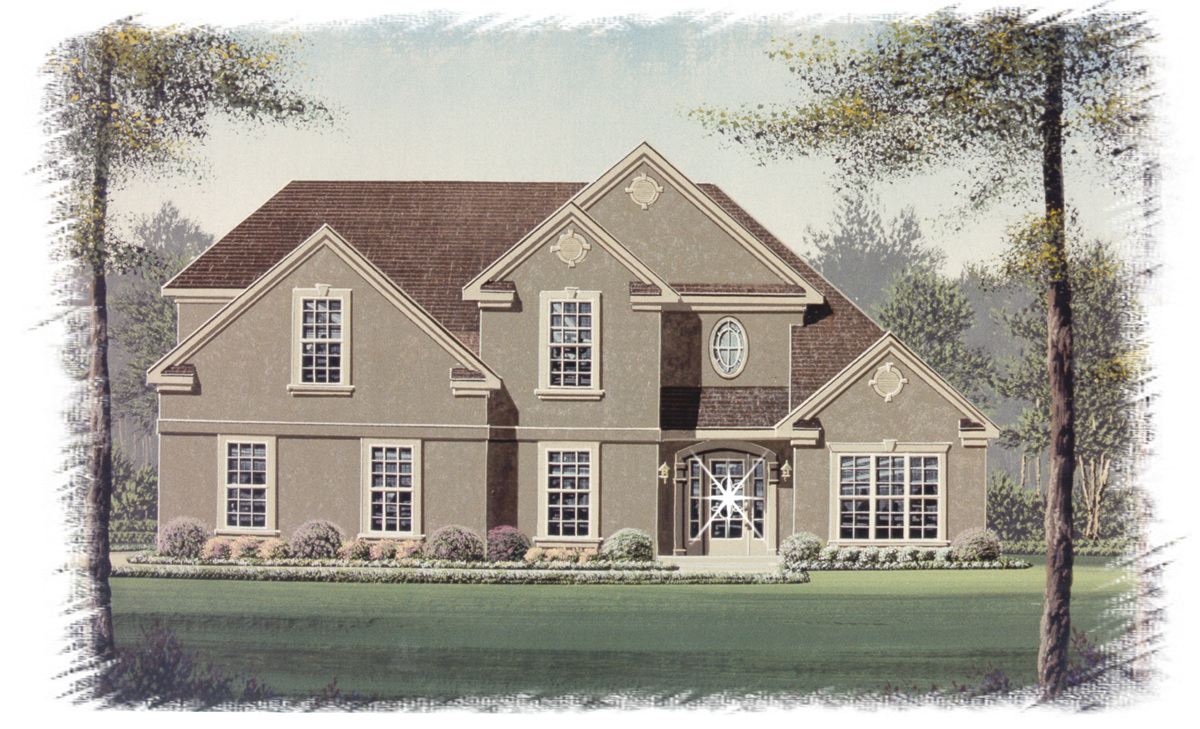 Stately Traditional Home Plan 18051bd Architectural