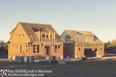 House Plan 18240BE comes to life in Maryland - photo 002