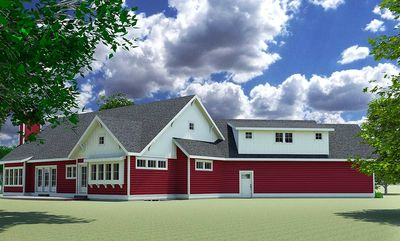 Red Cottage with In-Law Suite - 18249BE thumb - 02