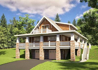 Adorable Cottage With Wraparound Views - 18250BE thumb - 02