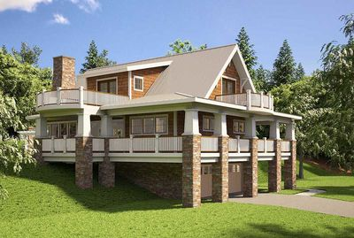Adorable Cottage With Wraparound Views - 18250BE thumb - 06