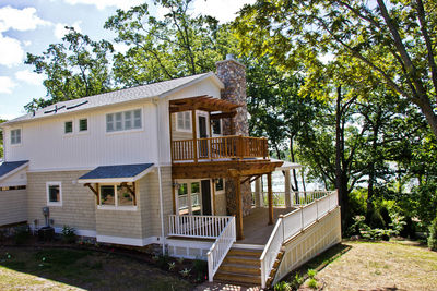 Impressive Craftsman Home Plan with Pergola - 18257BE thumb - 46