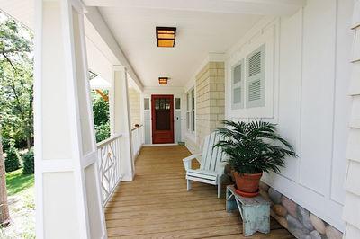 Impressive Craftsman Home Plan with Pergola - 18257BE thumb - 09
