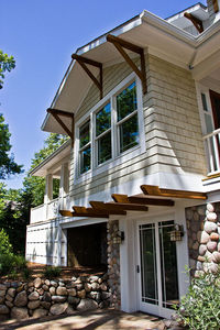 Impressive Craftsman Home Plan with Pergola - 18257BE thumb - 05