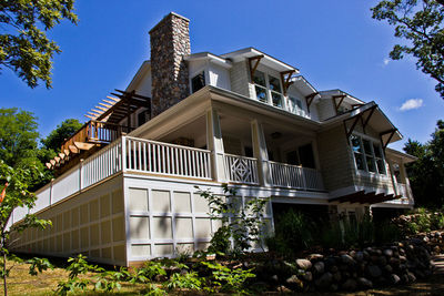 Impressive Craftsman Home Plan with Pergola - 18257BE thumb - 45