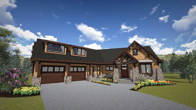 Mountain Cottage With In-Law Suite - 18263BE thumb - 01