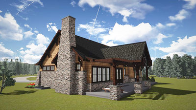 Mountain Cottage With In-Law Suite - 18263BE thumb - 04