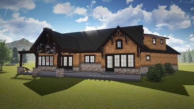 Mountain Cottage With In-Law Suite - 18263BE thumb - 10
