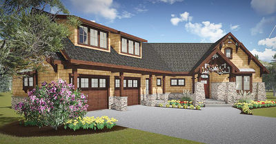 Mountain Cottage With In-Law Suite - 18263BE thumb - 02