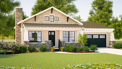 Simply Simple One Story Bungalow