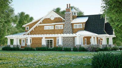 Gorgeous Shingle-Style Home Plan - 18270BE thumb - 04