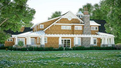Gorgeous Shingle-Style Home Plan - 18270BE thumb - 05