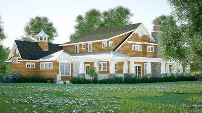 Gorgeous Shingle-Style Home Plan - 18270BE thumb - 06