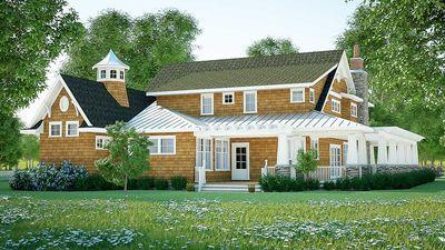 Gorgeous Shingle-Style Home Plan - 18270BE thumb - 07