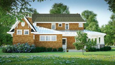 Gorgeous Shingle-Style Home Plan - 18270BE thumb - 08