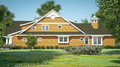 Gorgeous Shingle-Style Home Plan - 18270BE thumb - 10