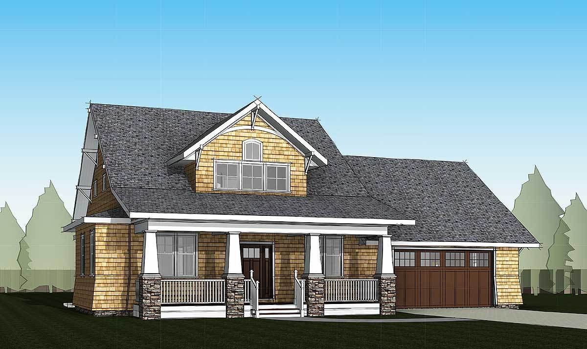 4 bed storybook bungalow 18280be architectural designs for Storybook home plans