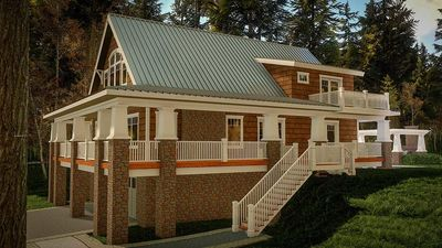 Magnificent Wrap-Around Porch - 18283BE thumb - 03