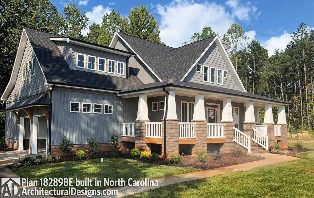 House Plan 18289BE Comes to Life in North Carolina - photo 001